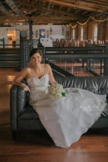 Ironclad Brewery Bridal Portrait Photographer