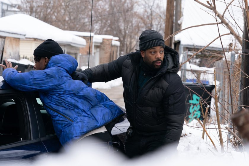 """CHICAGO P.D. -- """"Impossible Dream"""" Episode 809 -- Pictured: (l-r) LaRoyce Hawkins as Kevin Atwater -- (Photo by: Sandy Morris/NBC)"""