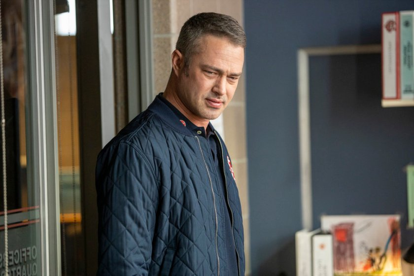 """CHICAGO FIRE -- """"Double Red"""" Episode 909 -- Pictured: Taylor Kinney as Kelly Severide -- (Photo by: Adrian S. Burrows Sr./NBC)"""