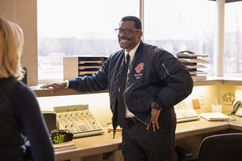 """CHICAGO FIRE -- """"A Couple Hundred Degrees"""" Episode 911 -- Pictured: Eamonn Walker as Wallace Boden -- (Photo by: Adrian S. Burrows Sr./NBC)"""