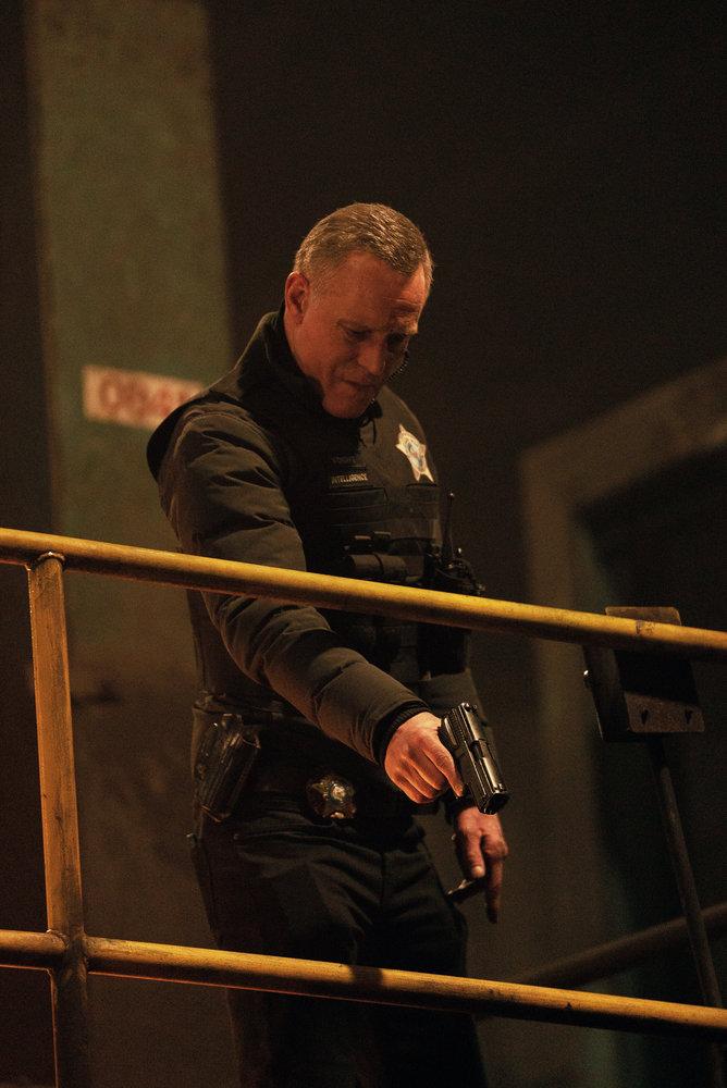 "CHICAGO P.D. -- ""Due Process"" Episode 812 -- Pictured: Jason Beghe as Hank Voight -- (Photo by: Lori Allen/NBC)"