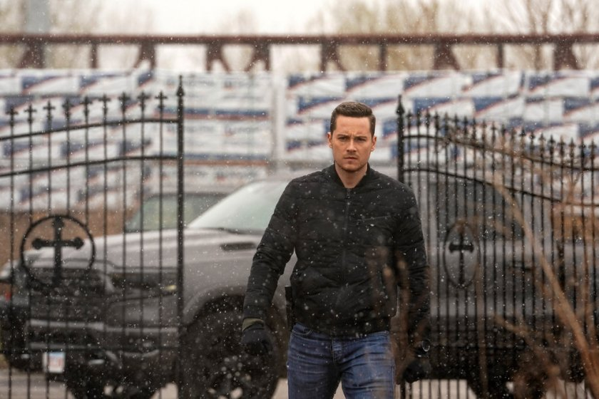 """CHICAGO P.D. -- """"The Right Thing"""" Episode 815 -- Pictured: Jesse Lee Soffer as Jay Halstead -- (Photo by: Lori Allen/NBC)"""