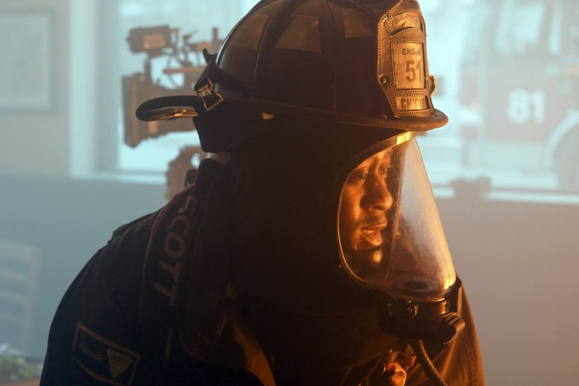 "CHICAGO FIRE -- ""A White Knuckle Panic"" Episode 915 -- Pictured: Daniel Kyri as Darren Ritter -- (Photo by: Lori Allen/NBC)"