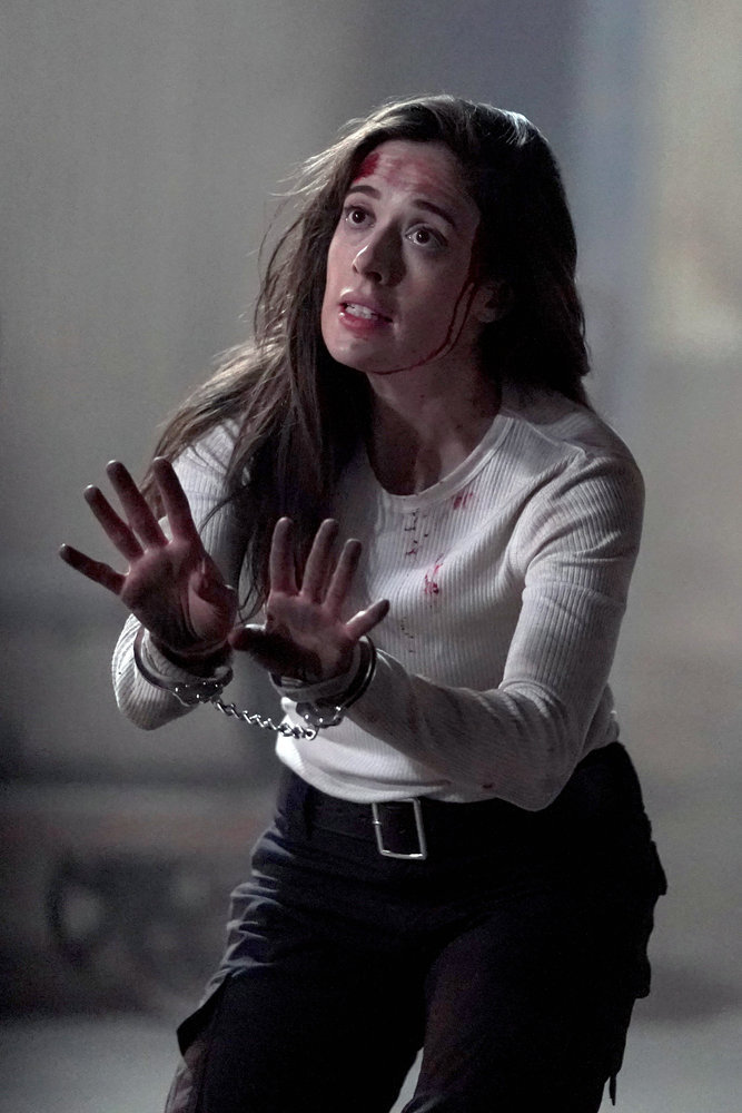 """CHICAGO P.D. -- """"The Other Side"""" Episode 816 -- Pictured: Marina Squerciati as Kim Burgess -- (Photo by: Lori Allen/NBC)"""