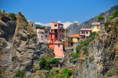 Manarola , the the oldest of the towns in the Cinque Terre