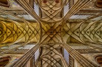 The Crossing, St Vitus Cathedral Ceiling  Prague, Czech ...