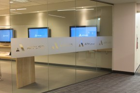 Etched Vinyl for Office Doors