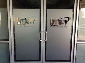 Etched Vinyl Privacy Film