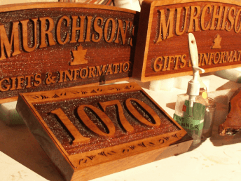 Carved Signs