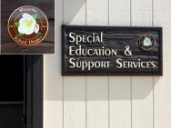 Sandblasted signs in Mt. Prospect IL