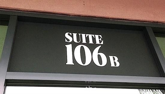 Custom Suite Signs