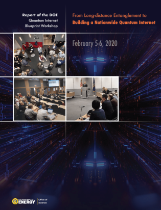 DOE Quantum Internet Blueprint Workshop Report