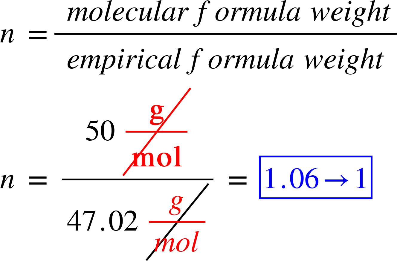 Chemistry Empirical And Molecular Formula Worksheet