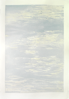 Northern Water 3- Watercolour on Paper - 29x28.5cm - 2015