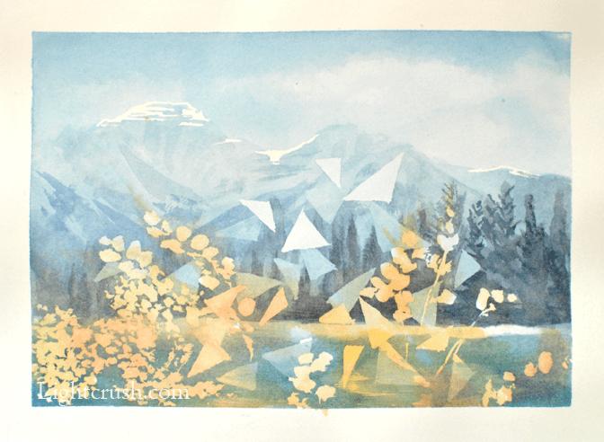 Postcard 1 - Watercolour on paper - 19x14cm - 2015