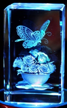 Cool Laser Etch on Glass