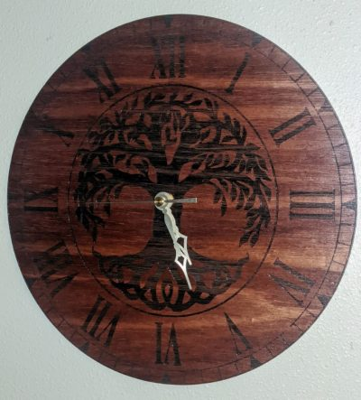 tree of life clock