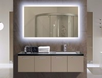 Illuminated Bathroom Mirror | Lighted Wall Mirrors For ...