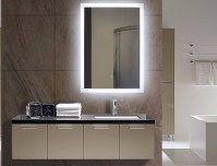 Illuminated Bathroom Mirror | Lighted Wall Mirrors For ...