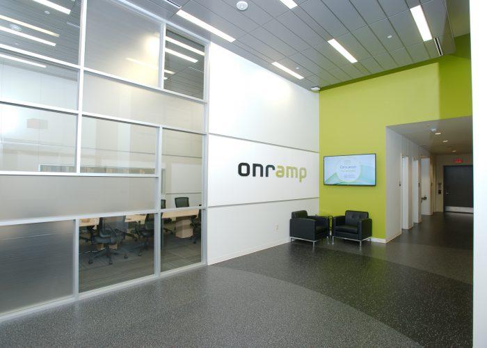 Austin data center interior