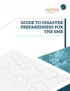 Image of Guide to Disaster Preparedness for the SMB Whitepaper from LightEdge