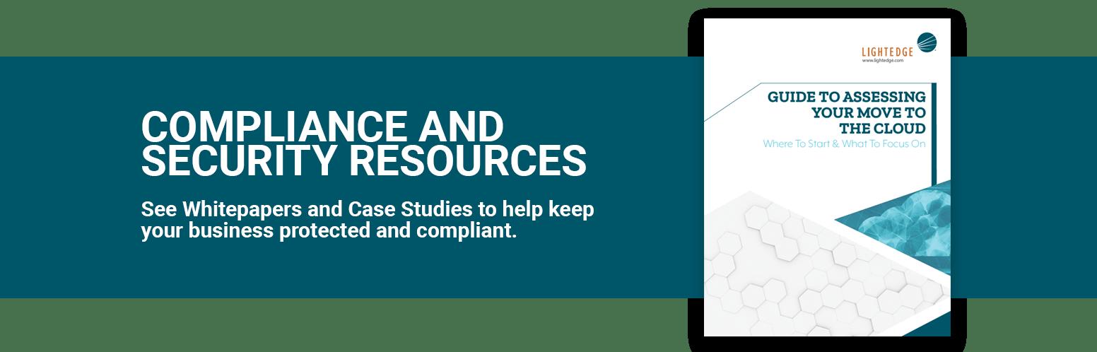 PCI Compliant Colocation Services | LightEdge Solutions