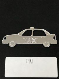 Taxi/Road Show Set of Mirrored Plexiglas. TAXI- Pinball ...
