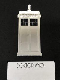 Doctor Who DW - Set of Mirrored Plexiglas POLICE BOX ...