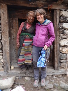 LED solar light checks, Bhote Kosi valley - LED Solu Khumbu Trek, April/May 2016