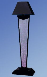 Aqua Glass Bubble Lamp - lamp shades nyc
