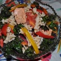 Wild Salmon Pasta Salad