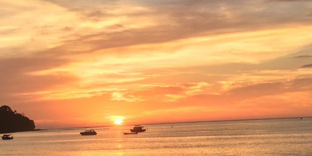 bangtao sunset