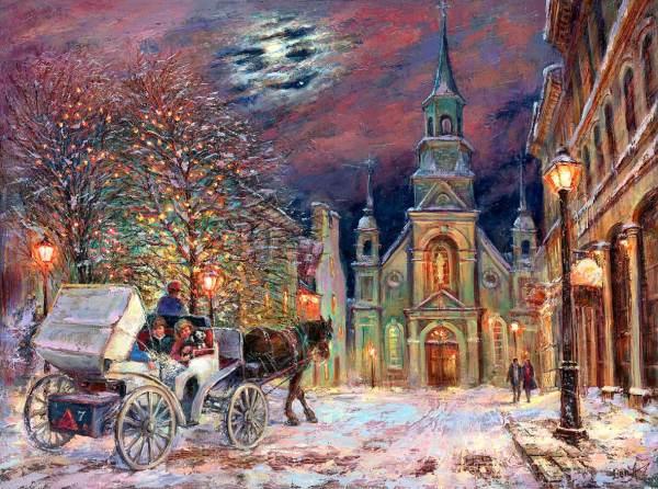 Christmas Art Prints Paintings