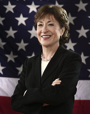 English: Susan Collins (R-ME), member of the U...