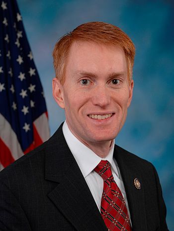 English: Official portrait of US Rep. James La...
