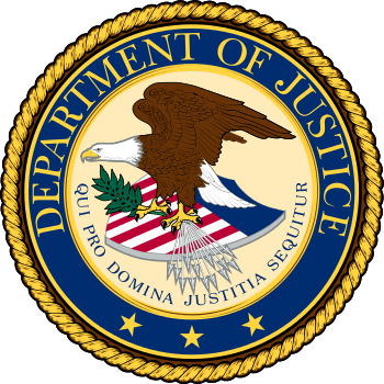 Seal of the United States Department of Justice
