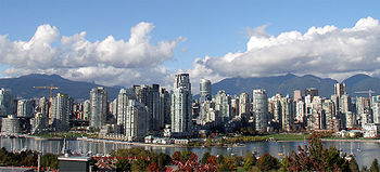 View on Vancouver on October 1, 2005