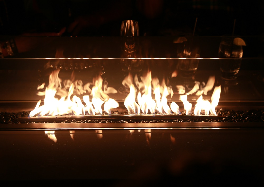 Cocktail Fire Tables