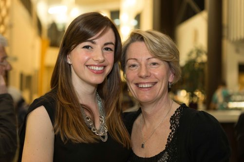 Gillian and Cathy McDermott at the Ennis Book Club Festival this weekend. Photograph by Eamon Ward