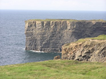 Foohagh Point near Kilkee, one of the geological features showcased in 'Banner Rocks' - a new book detailing the geology of County Clare. Pic Scott Engering, GSI.