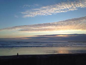 Lahinch sunset. Pic Niall Allen