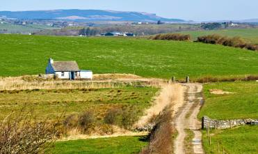 A cottage between Ennistymon and Lahinch. Pic Ann O'Connell Images