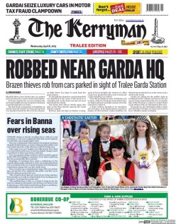 kerryman front page