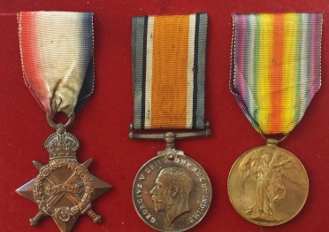 Military medals belonging Martin Kennedy of the Royal Munster Fusiliers will be put on display as part of 'Stand Up And Fight', a new exhibition documenting Limerick's ties to international military campaigns. The exhibition will be launched in Limerick next Thursday and runs until December. Martin Kennedy was the son of James and Hannah Kennedy, of 9, Punches Lane, Carey's Rd., Limerick, He was only 17 when killed in Belgium on 30 June 1916