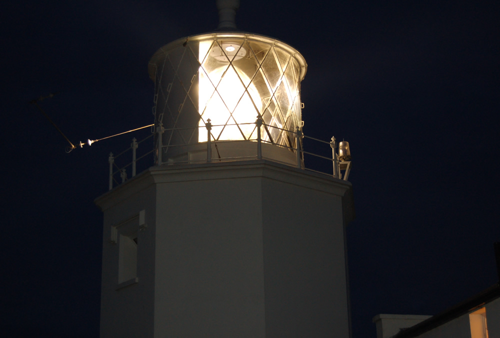 Lizard Lighthouse, Cornwall at Night