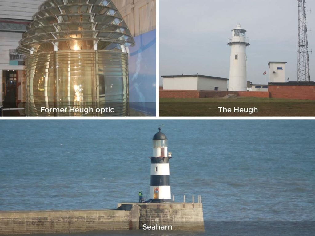 County Durham lighthouses