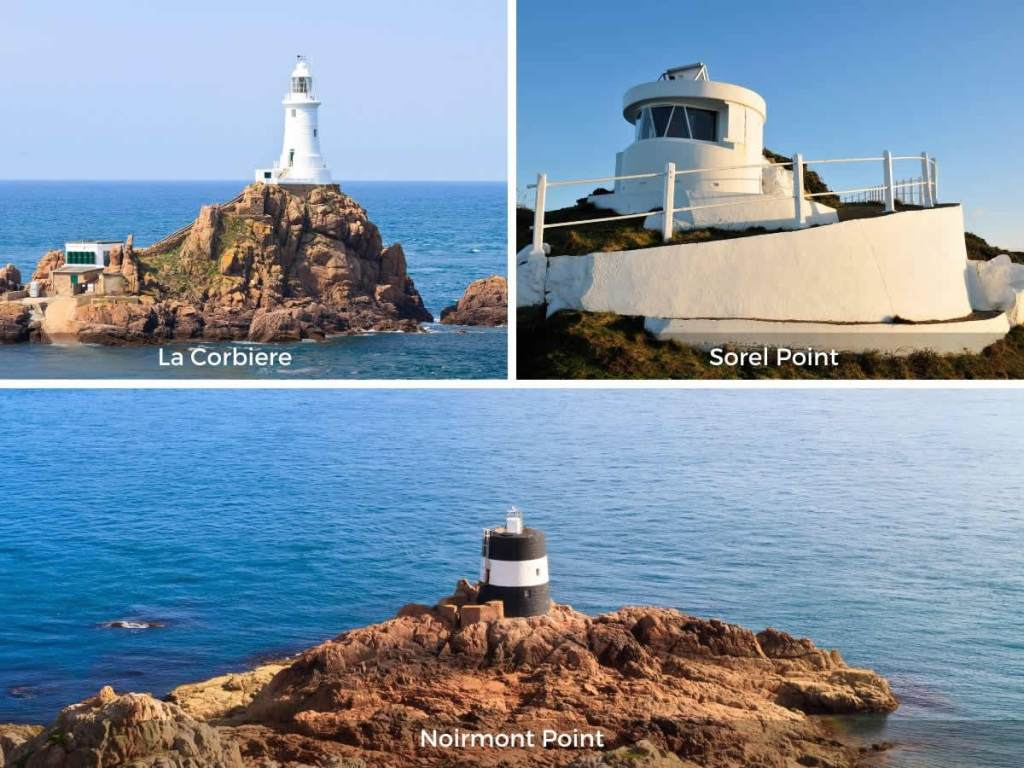 Jersey lighthouses