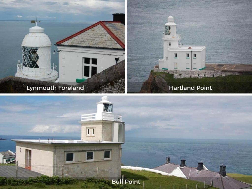 North Devon lighthouses