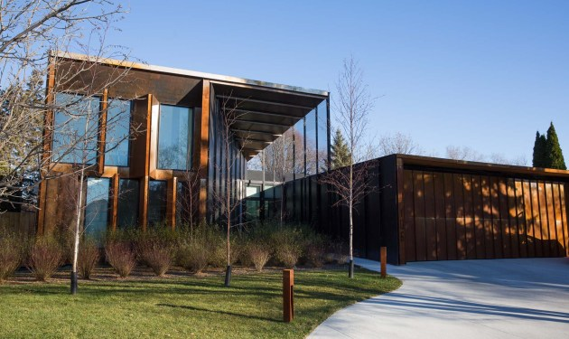 Stunning custom architectural products on Winnipeg home