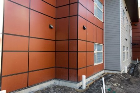 Winnipeg Hardie board panels